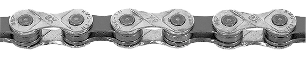 Цепь KMC X-9 Silver/grey