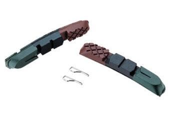 Сменные картриджи для тормозных колодок Baradine Green
