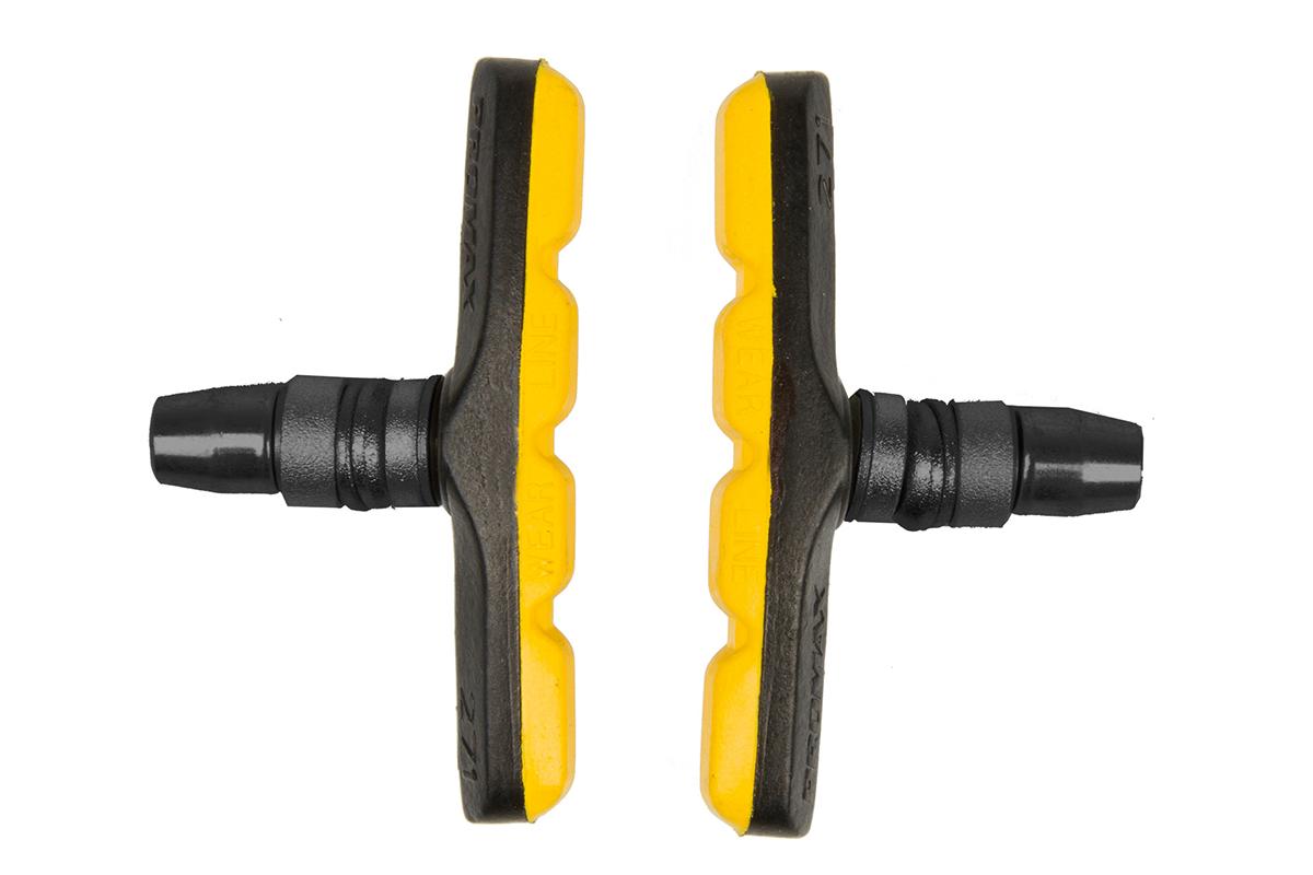 Тормозные колодки PROMAX в упаковке, желтые