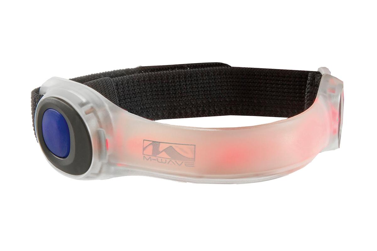 Фликер M-WAVE LED LIGHT BAND 2 функции свет/отражение