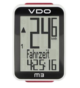 Велокомпьютер VDO M3 WL (беспроводной)